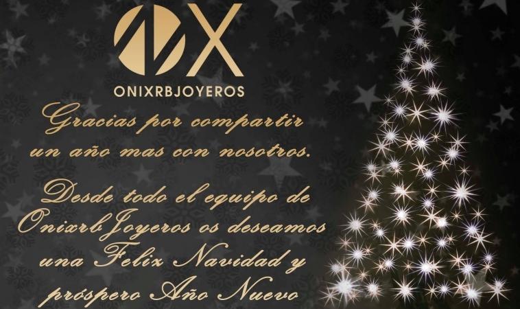 Onix RB Joyeros os desea Felices Fiestas